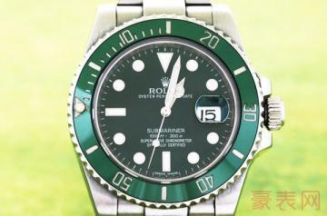劳力士绿水鬼二手表在哪儿卖能收获高价