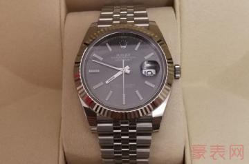7万8的劳力士手表回收能卖多少钱