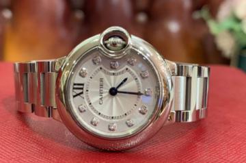 卡地亚表径28mm的蓝气球手表回收价多少