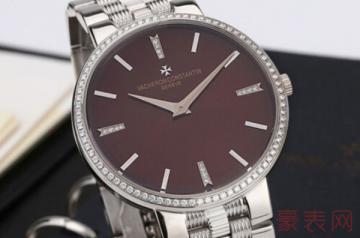 江诗丹顿带钻男士手表回收能拿多少钱