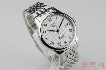 天梭女土机械手表回收卖多少钱