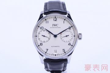 同个系列的万国葡萄牙手表回收要看款式吗