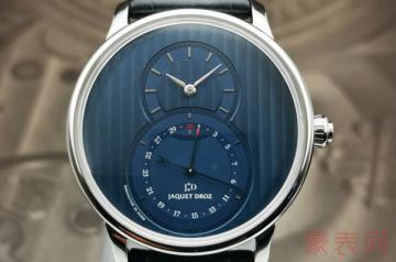 在哪儿回收雅克德罗二手手表有保障