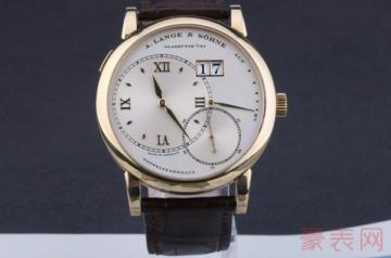老款朗格手表回收价格为何与原价落差很大