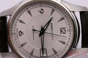 创新风格的汉米尔顿手表能回收吗