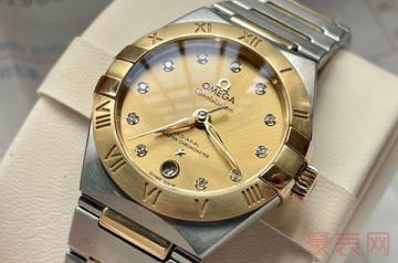 无保卡的欧米茄手表回收一般多少钱