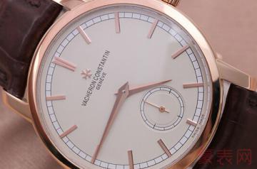 高价买的江诗丹顿手表回收报价能有几折