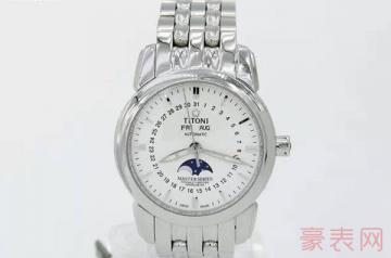 成色半新的梅花牌手表能卖多少钱