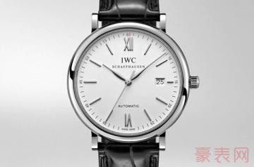 万国柏涛菲诺手表回收多少钱