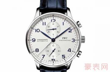 使用过的万国手表回收一般是几折