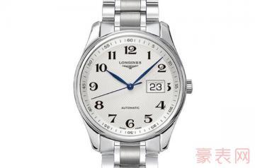 老款的浪琴手表回收能卖多少钱一个