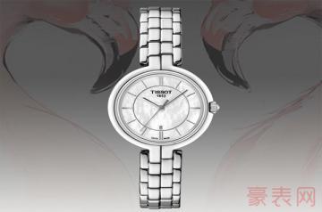 一块天梭手表的回收价格多少钱