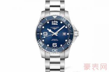 买了一年的浪琴手表可以卖多少钱