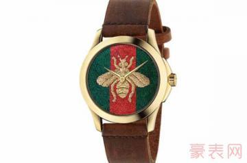 使用了一段时间的古驰手表回收值钱么