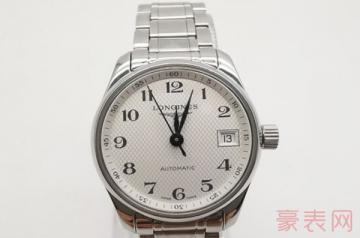 一块一万五的浪琴手表回收大约多少钱