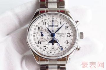 浪琴月相手表用了几年还能卖多少