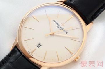 江诗丹顿二手表回收价格主要取决于这几点