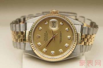 劳力士10万左右的手表回收能卖多少钱