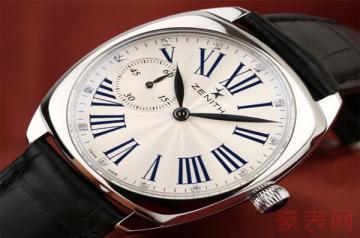 真力时手表回收行情可见一斑
