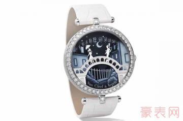 没有附件的梵克雅宝手表回收值钱吗