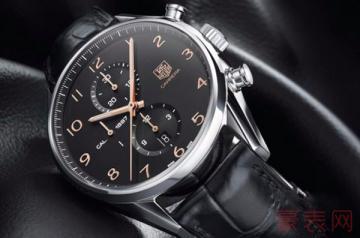 低调制表的泰格豪雅手表回收价十分出彩?