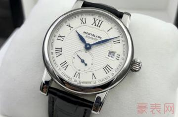 换过表带的万宝龙表可以回收吗