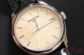 高档二手表回收一般什么价位才不亏