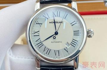 万宝龙手表戴十年了回收能卖多少钱