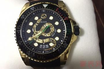 古驰女士手表可回收的地方多吗