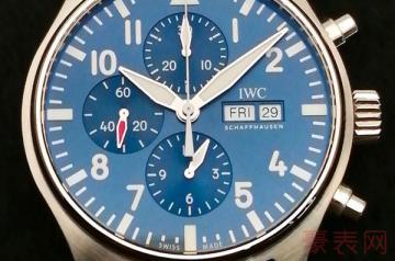 万国飞行员手表回收能卖多少钱