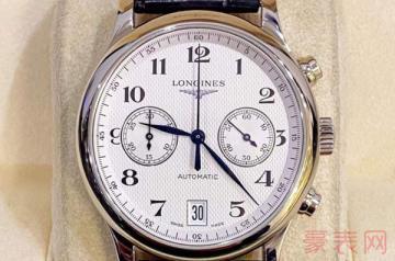 2万多的浪琴手表回收能卖多少钱