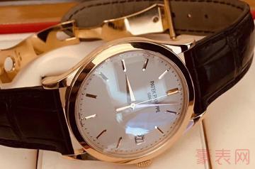 九五新的百达翡丽手表回收地方多吗