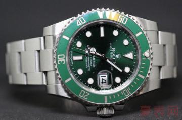 瑞士劳力士手表绿水鬼回收价超高