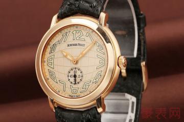 二手国产手表回收多少钱 可别抱太大希望
