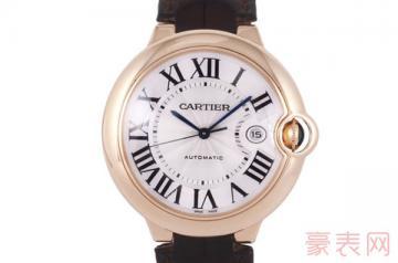 卡地亚二手表回收价格几折才值当