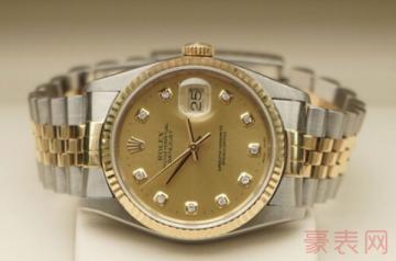 10万块买的劳力士手表能卖多少钱