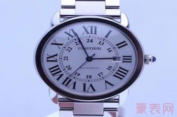 卡地亚手表摔坏了能二手回收吗