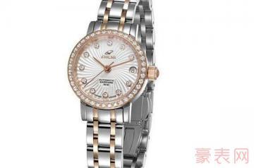 英纳格旧手表回收几折才值当