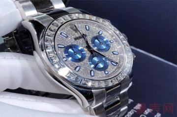 劳力士116503黑盘镶钻手表的回收价高吗