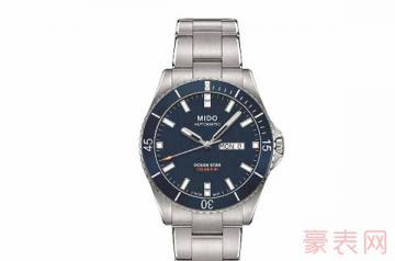 美度手表7000买的二手能卖多少钱