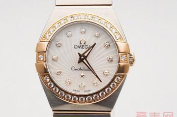 欧米茄星座石英机芯手表回收价格如何