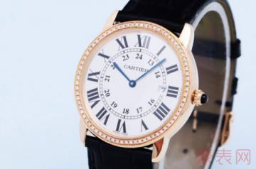 四万的卡地亚手表二手回收多少钱