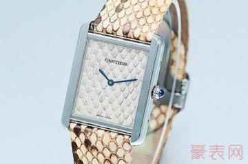 戴了2年的卡地亚手表回收能卖多少钱