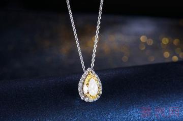 购买花了两万的钻石项链能卖多少钱