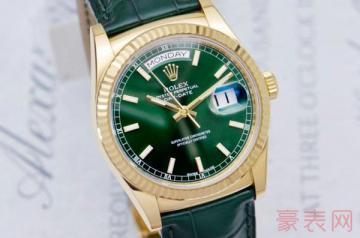 劳力士型号为118138手表回收价值如何