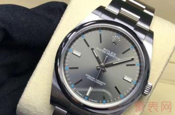 劳力士二手表回收一般能有几折