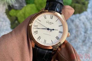 老式的格拉苏蒂手表哪里回收报价可观一些