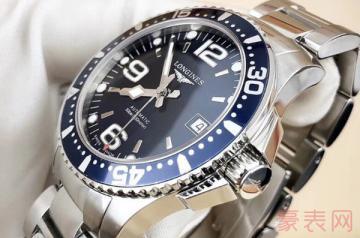 九成新浪琴手表回收可以卖多少钱