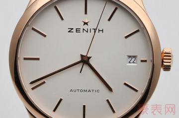 哪里可以回收二手真力时手表