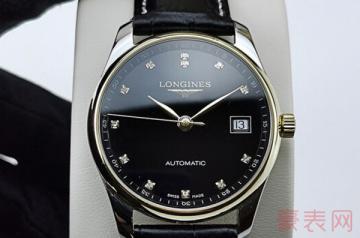 浪琴两万左右的手表回收还值几万?